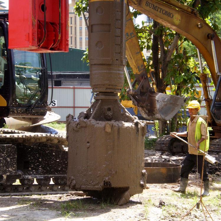 旋挖钻头应用(马来西亚)
